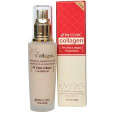 Тональная основа с коллагеном 3W Clinic Collagen Foundation