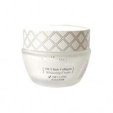 Осветляющий крем для лица 3W Clinic Collagen Whitening Cream