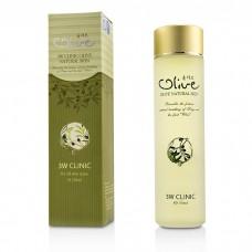 Увлажняющий тонер с масло оливы 3W Clinic Olive Natural Skin Toner