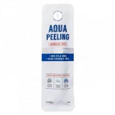 Палочка для пилинга кожи лица с АНА и ВНА-кислотами A'Pieu Aqua Peeling Cotton Swab Intensive Type