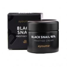 Многофункциональный крем с муцином черной улитки Ayoume Black Snail Prestige Cream