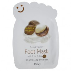 Маска носочки для ног с маслом Ши Dewy Foot Mask with Shea Butter