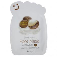 Маска носочки для ног с маслом Ши Dewy Foot Mask with Shea Butter
