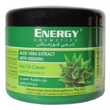 Маска бальзам для волос с экстрактом алоэ и кератином Energy Cosmetics Aloe Vera Extract with Keratin