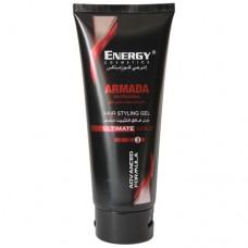 Гель для волос профессиональный для сильной фиксации Energy Cosmetics Armada Professional