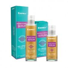 Восстанавливающая сыворотка для волос с аргановым маслом Energy Cosmetics Restructuring Serum with Argan Oil