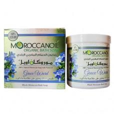 Органическое черное марокканское мыло Moroccanoil Organic Bath Soap