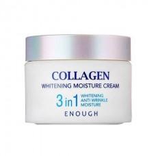Крем для лица с коллагеном Enough Collagen Whitening Moisture Cream