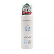Пенка-мусс для чувствительной, раздраженной кожи Etude House Soonjung p.h. 6.5 Whip Cleanser