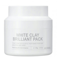 Маска с белой глиной Eunyul White Clay Brilliant Pack