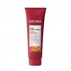 Гель для душа с клюквой и апельсином Evas Naturia Pure Body Wash Cranberry & Orange