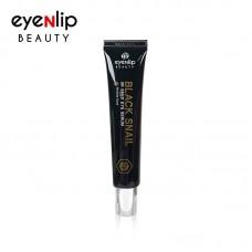 Сыворотка-роллер с муцином черной улитки для кожи вокруг глаз Eyenlip Beauty Black Snail 3R Seed Eye Serum
