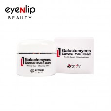 Антивозрастной крем с галактомицином и экстрактом дамасской розы Eyenlip Beauty Galactomyces Damask Rose Cream