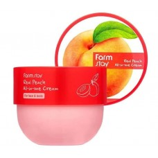 Крем для лица и тела с экстрактом персика FarmStay Real Peach All-In-One Cream
