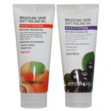 Пилинг-скатка с натуральными экстрактами Foodaholic Moisture Skin Soft Peeling Gel