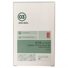 Тканевая маска с AHA/BHA кислотами Illiyoon 03 AHA/BHA Refining Mask
