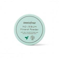 Матирующая минеральная пудра Innisfree No-Sebum Mineral Powder