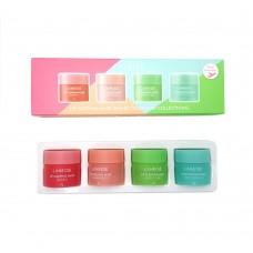 Набор масок для губ Laneige Lip Sleeping Mask Mini Kit