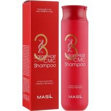 Восстанавливающий профессиональный шампунь с аминокислотами Masil 3 Salon Hair CMC Shampoo