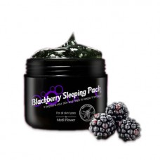 Ночная маска Medi Flower Blackberry Sleeping Pack