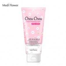 Увлажняющая пенка с экстрактом фруктов Medi Flower Chou Chou Facial Cleansing Foam