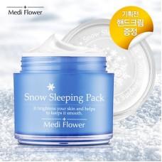 Ночная увлажняющая маска с морским виноградом Medi Flower Snow Sleeping Pack
