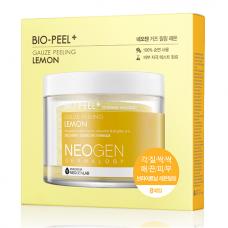 Пилинг-пэды с лимоном для сияния кожи Neogen Dermalogy Bio-Peel Gauze Peeling Lemon