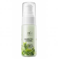 Увлажняющий крем для лица с зеленым чаем Ottie Green Tea Cream
