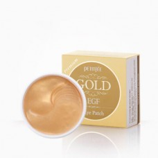 Гидрогелевые патчи с золотом Petitfee Gold EGF Eye Patch