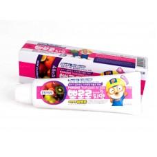 Детская зубная паста фруктовый микс Pororo Childrens Toothpaste Mixed Fruit