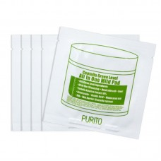 Пилинг диски с центеллой Purito Centella Green Level All In One Mild Pad