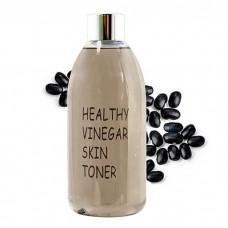 Уксусный тонер с экстрактом черных соевых бобов RealSkin Healthy Vinegar Skin Toner Black Bean