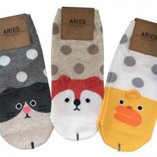 Носки трикотажные в горошек Aries animals dots for women
