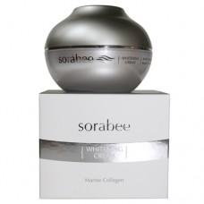 Осветляющий крем с ниацинамидом и коллагеном Sorabee Whitening Cream Marine Collagen