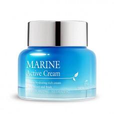 Увлажняющий крем с морской водой и водорослями The Skin House Marine Active Cream