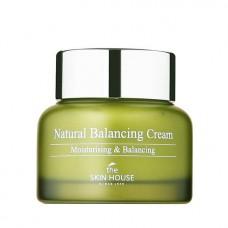 Балансирующий крем для обезвоженной кожи The Skin House Natural Balancing Cream