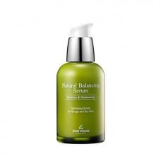 Балансирующая сыворотка для обезвоженной жирной кожи The Skin House Natural Balancing Serum