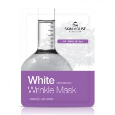 Осветляющая тканевая маска для лица The Skin House White Wrinkle Mask