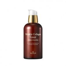 Антивозрастной тонер для лица с коллагеном The Skin House Wrinkle Collagen Toner