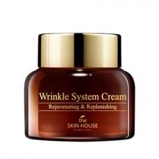 Антивозрастной крем с коллагеном для лица The Skin House Wrinkle System Cream