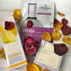 Подарочный набор красивая кожа White Gift Set