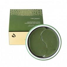 Универсальные успокаивающие патчи с маслом аллигатора и центеллой азиатской Trimay Alligator & Cica Hydrogel Eye Patch