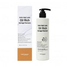 Питательный шампунь для сухих и поврежденных волос Trimay Anti-Hair Loss Oil Rich Damage Shampoo